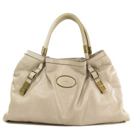 Chloe logo motif tote bag ladies