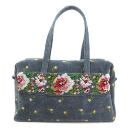 Failer flower motif tote bag ladies