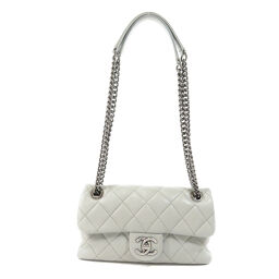 Chanel Chain Shoulder Silver Hardware Shoulder Bag Ladies