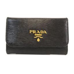 プラダ ロゴ キーケースレディース