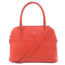 Hermes Bored 27 Silver Hardware Rose Shapur Handbag Ladies