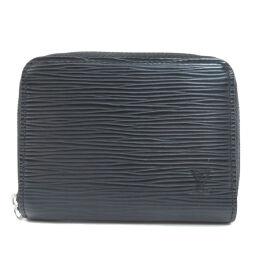 Louis Vuitton M60152 Zippy Coin Purse Epi Noir Coin Case Men's