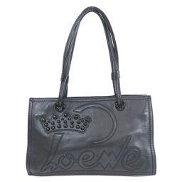 Loewe Logo Studded Tote Bag Ladies