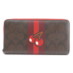 Coach F56718 Signature Pac-Man Collaboration Wallet (with coin purse) Ladies