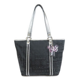 COACH F15709 logo design tote bag ladies