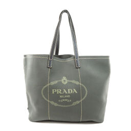 Prada logo motif tote bag ladies