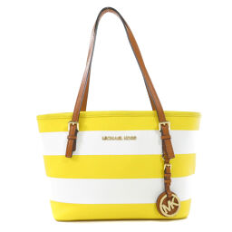 Michael Kors Border Pattern Handbag Ladies