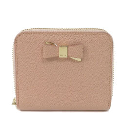 Furla Ribbon motif Two-fold wallet (with coin purse) Ladies