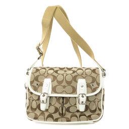 COACH 6849 Signature Shoulder Bag Ladies