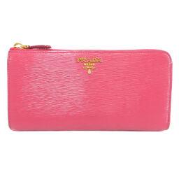 Prada logo motif long wallet (with coin purse) women