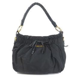 Prada logo handbag ladies
