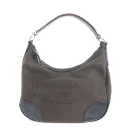 Prada BR3423 Logo One Shoulder Shoulder Bag Ladies