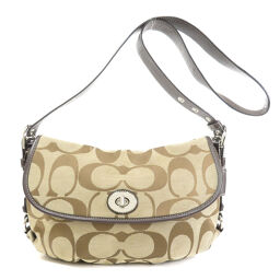 Coach F15171 Signature Shoulder Bag Women