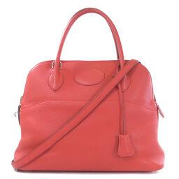 Hermes Jaipur 31 Silver Hardware Rose Shy Pool Handbag Ladies