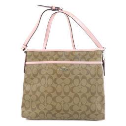COACH F58297 Signature Shoulder Bag Ladies