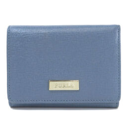 Furla Logo Plate Two-folded wallet (with coin purse) Ladies