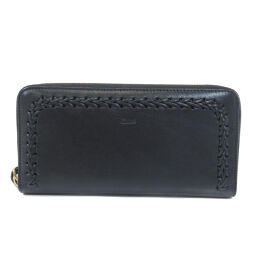 Chloe logo embossed long wallet (with coin purse) women