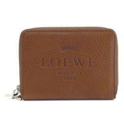 Loewe logo motif coin case ladies