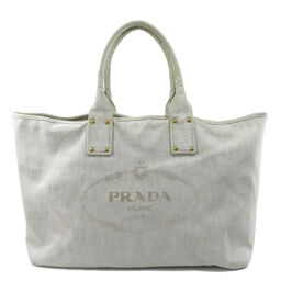 Prada logo tote bag ladies
