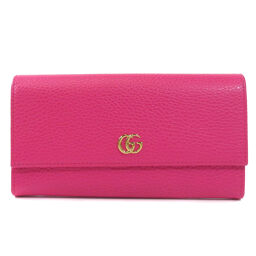 Gucci 456116 GG logo long wallet (with coin purse) Ladies