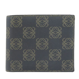 Loewe logo design bi-fold wallet (no coin purse) men's