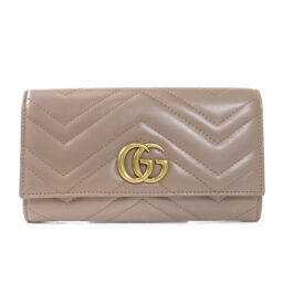 Gucci 443435 GG Marmont Long Wallet (with coin purse) Ladies
