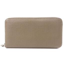 エルメス アザップロング エトープ エトゥープ 長財布(小銭入れあり)レディース