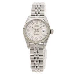 Rolex 79174G Datejust 10P Diamond Watch Ladies