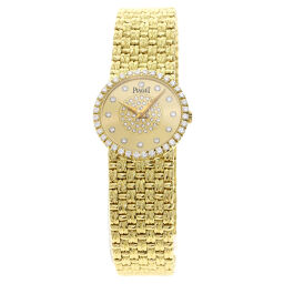 Piaget 9706D23 Tradition Bezel Diamond Wrist Watch OH Completed Ladies