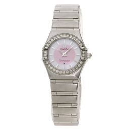 Omega 1466.85 Constellation Diamond Bezel Watch Ladies