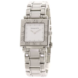 Tiffany Atlas Square Face Watch OH Finished Ladies