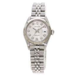 Rolex 79174G Datejust 10P Diamond Watch Overhauled Ladies