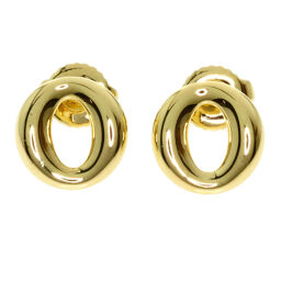 Tiffany Elsa Peretti Circle Motif Earrings Ladies