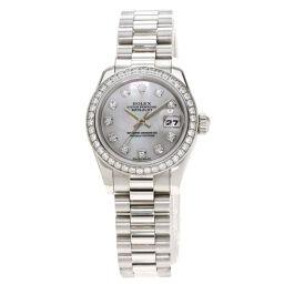 <html>    <body>   ロレックス 179136NG デイトジャスト 10P ダイヤモンド 腕時計 OH済レディース        </body> </html>