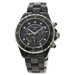 <html>    <body>   シャネル H2419 J12 クロノグラフ 41mm ダイヤモンド 腕時計 OH済メンズ        </body> </html>