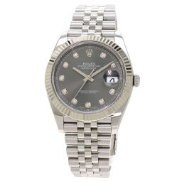 <html>    <body>   ロレックス 126334G デイトジャスト 10P ダイヤモンド 腕時計メンズ        </body> </html>