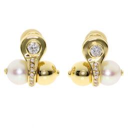Select Jewelry Pearl Pearl Diamond A & A Turner Earrings Women's