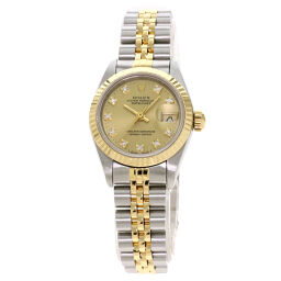 Rolex 69173G Datejust 10P Diamond Watch Ladies