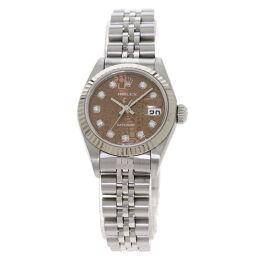 Rolex 79174G Datejust 10P Diamond Watch Overhauled Ladies