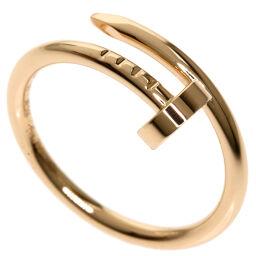 カルティエ ジュストアンクル SM #50 リング・指輪レディース