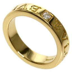 Bulgari Double Logo Diamond Ring / Ring Women