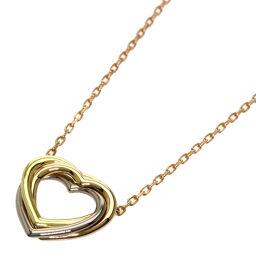 Cartier Trinity Heart Necklace Ladies