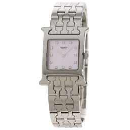 Hermes HH1.210 H Watch 12P Diamond Watch Ladies