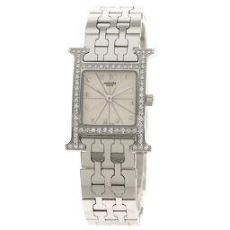 Hermes HH1.230 H watch diamond bezel watch ladies