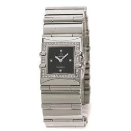 Omega 1528.46 Constellation Carre Diamond Watch Ladies