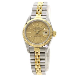 Rolex 69173 Datejust Tapestry Dial Watch OH Finished Ladies