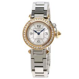 Cartier WJ124021 Miss Pacha Bezel Diamond Watch Ladies