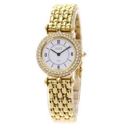 <html>    <body>   ヴァンクリーフ&アーペル クラシック ダイヤモンドベゼル 腕時計レディース        </body> </html>
