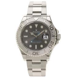 ロレックス 116622 ヨットマスター ダークロジウム 腕時計メンズ