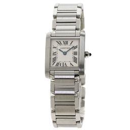 """<html lang=""""ja"""">    <body>   カルティエ W51008Q3 タンクフランセーズSM 腕時計レディース        </body> </html>"""